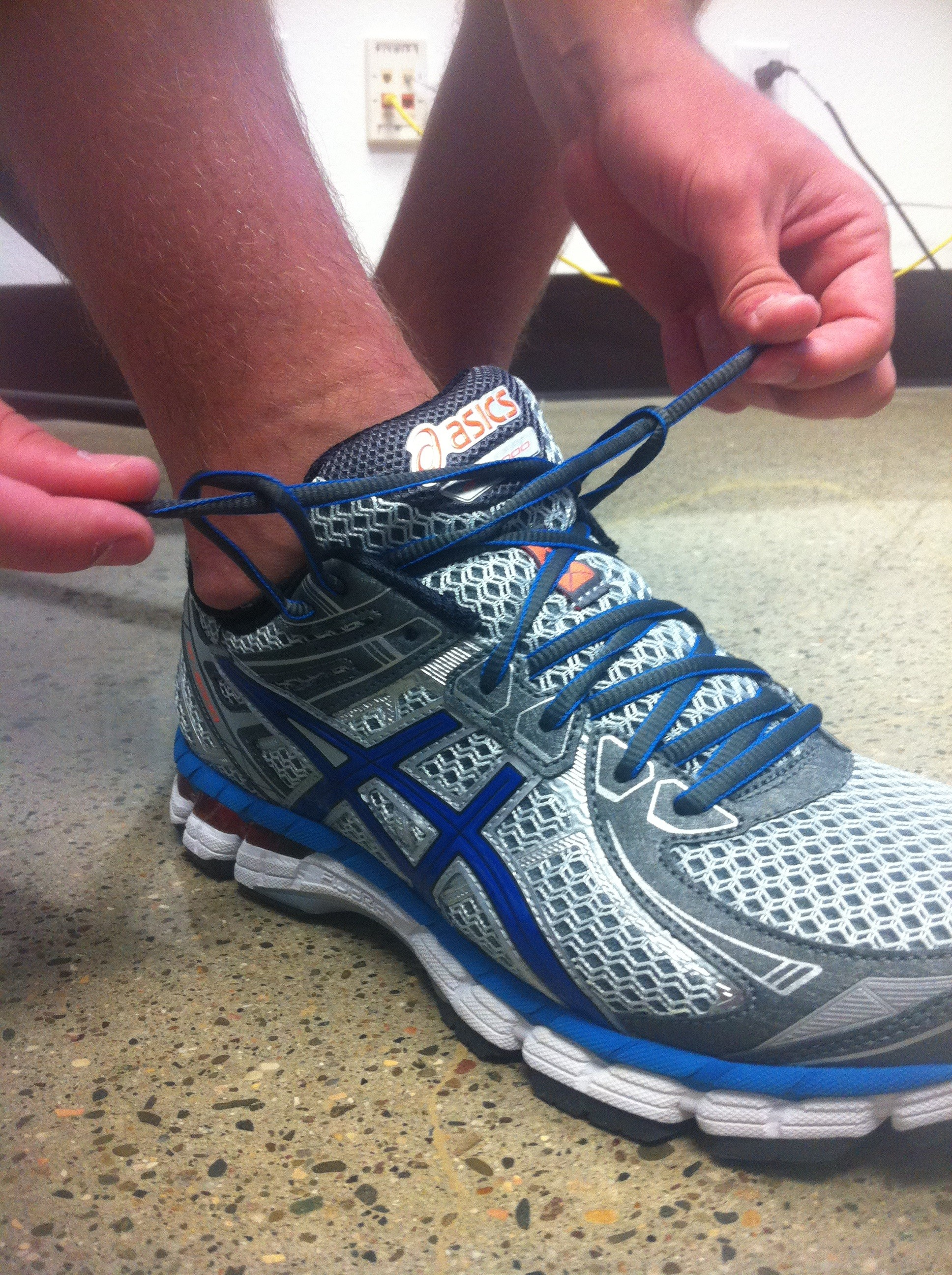 How To Lace Running Shoes For Heel Slippage
